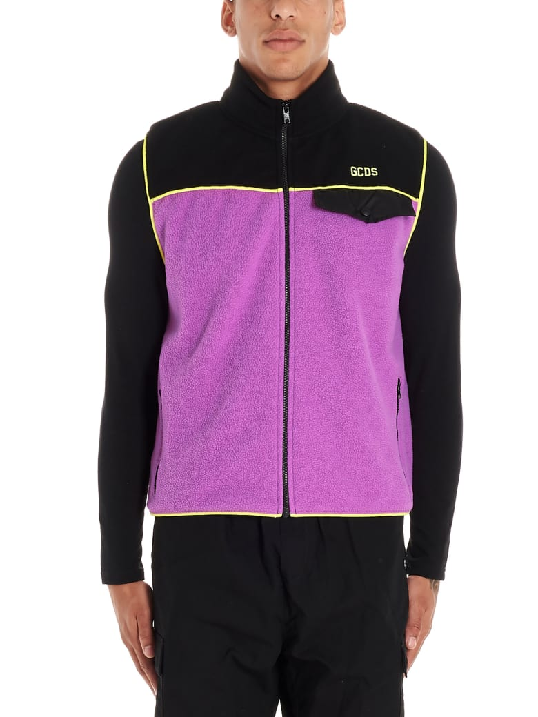 GCDS Vest - Purple