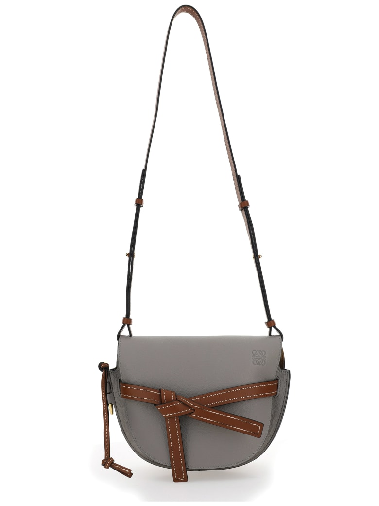 Loewe Small Gate Shoulder Bag - Smoke/pecan