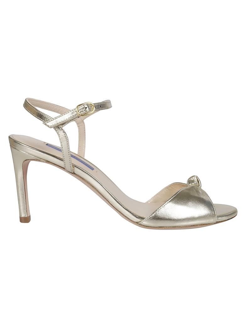 Stuart Weitzman Ankle-strap Sandals - Platino