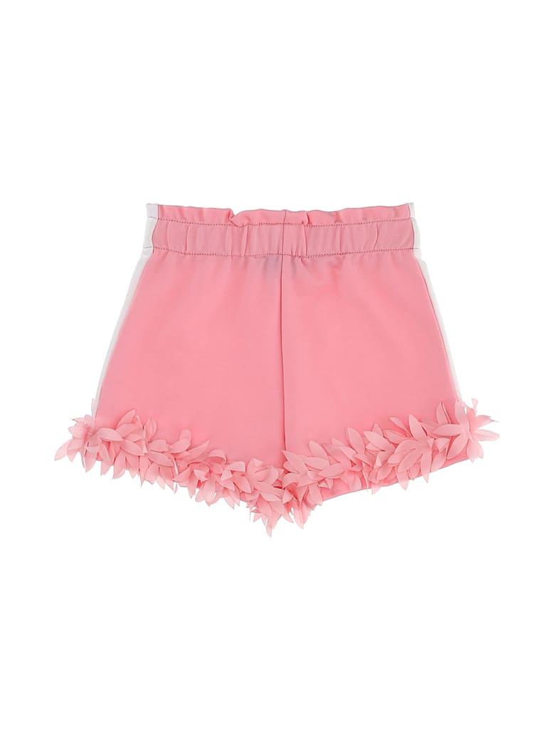 Monnalisa Fringed Shorts - Fucsia