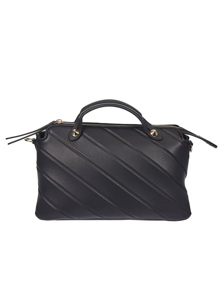 Fendi Engraved Stripe Detail Tote by Fendi