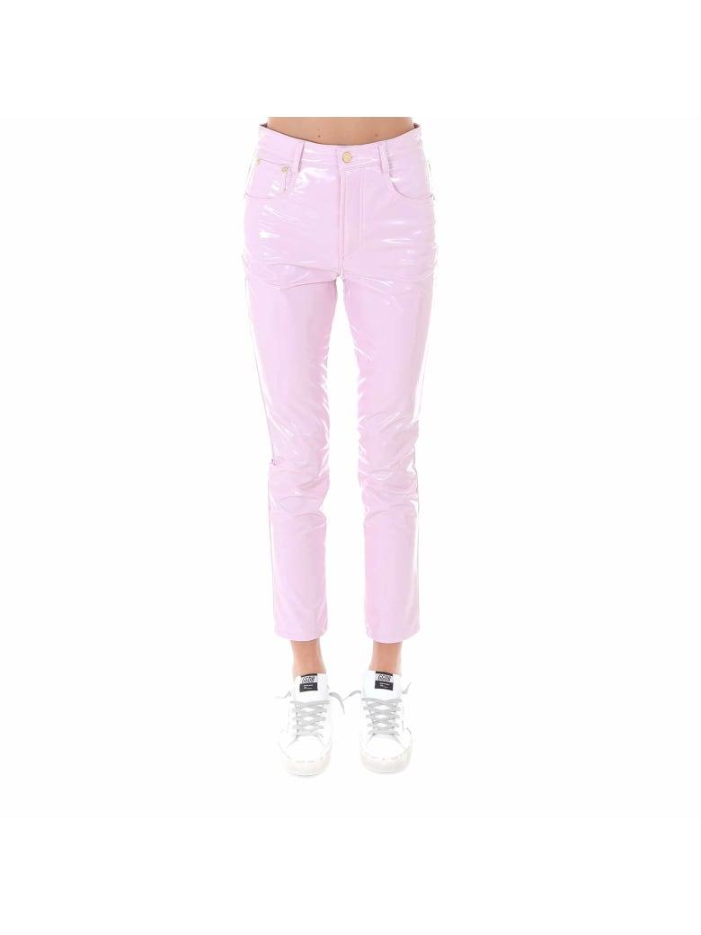 Chiara Ferragni Pants Flirting Vinyl - Pink