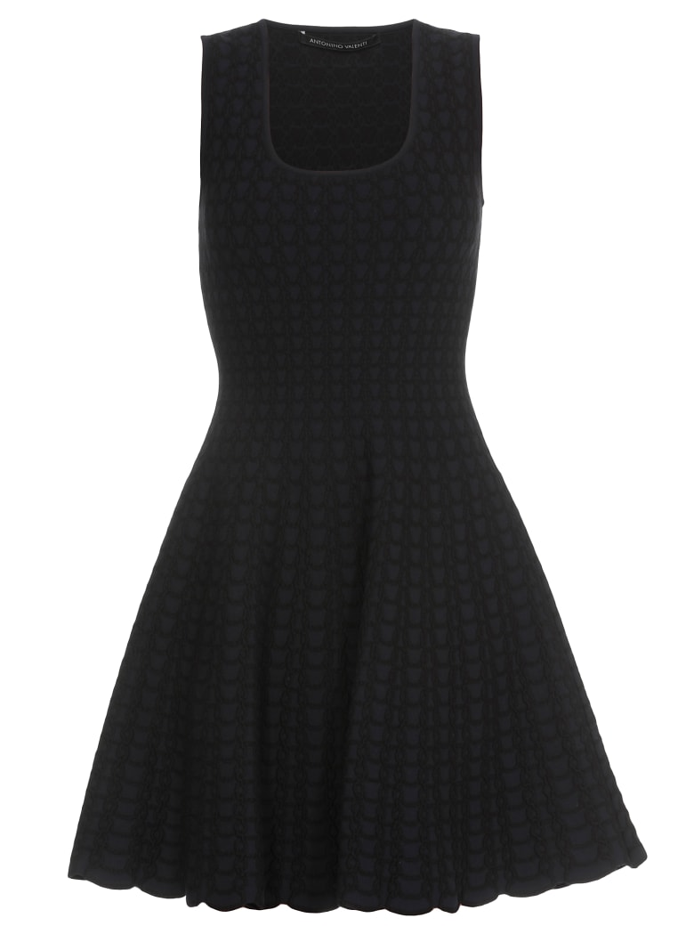 Antonino Valenti Dionisa Dress - Blu-black