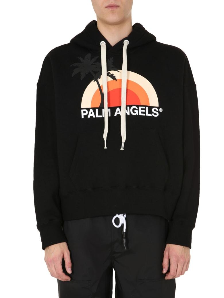 Palm Angels Hoodie - NERO