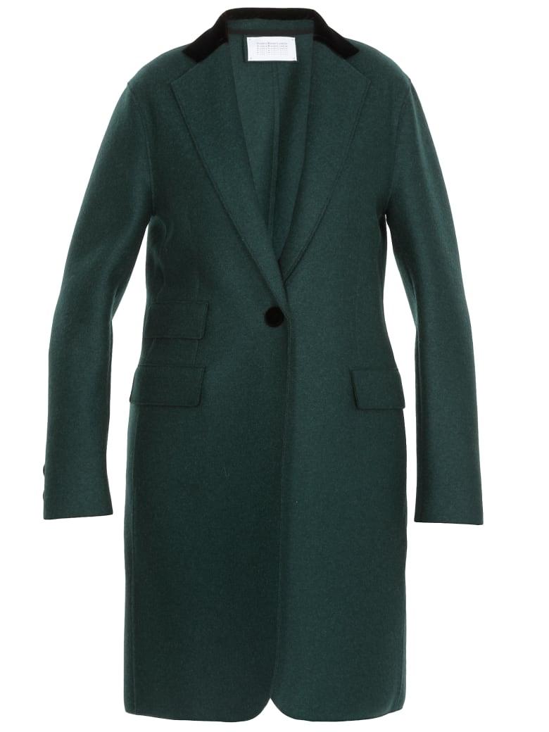 Harris Wharf London Wool Coat - BOTT GREEN