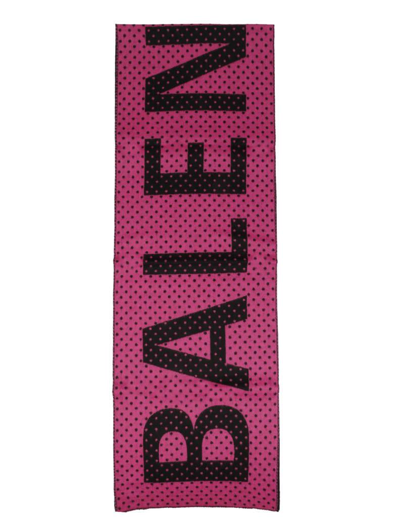 Balenciaga Gigant Logo Scarf
