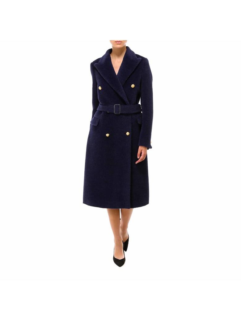 Tagliatore Coat - Blue