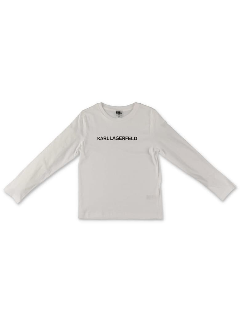 Karl Lagerfeld T-Shirt - Bianco