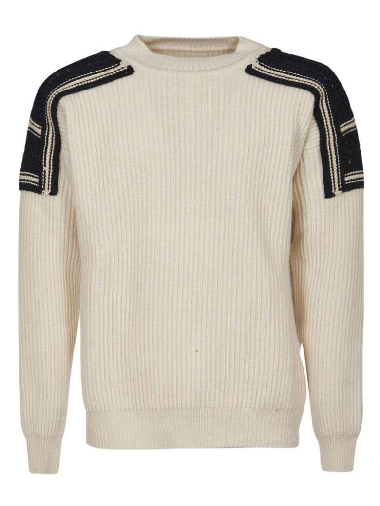 Jil Sander Embroidered Sweatshirt - Natural