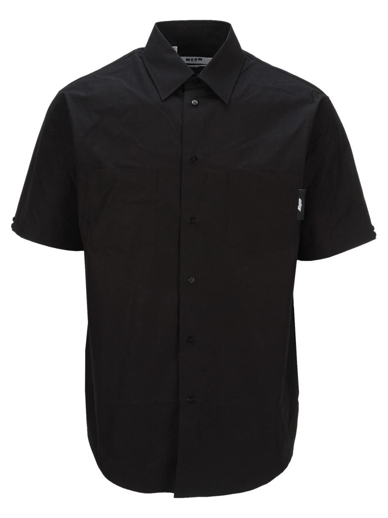MSGM Graphic Print Shirt - BLACK PRINT