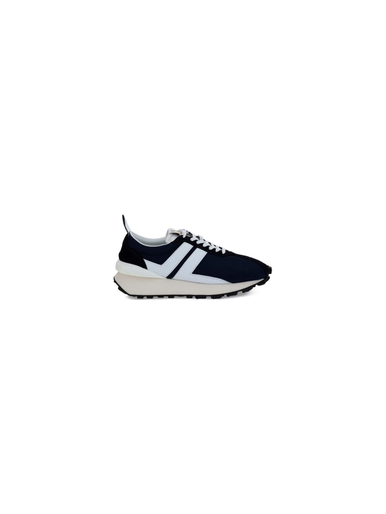 Lanvin Running Sneakers - Navy blue/white