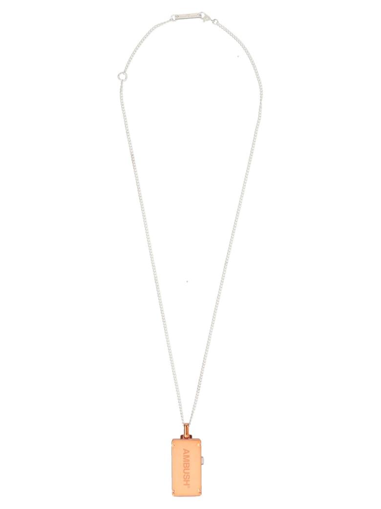 AMBUSH 'usb' Necklace - Orange