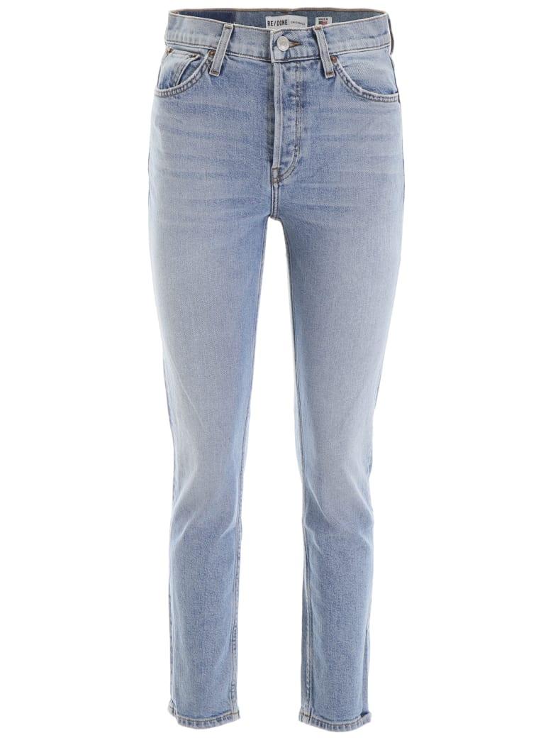 RE/DONE Original Skinny Jeans - PALE INDIGO (Light blue)