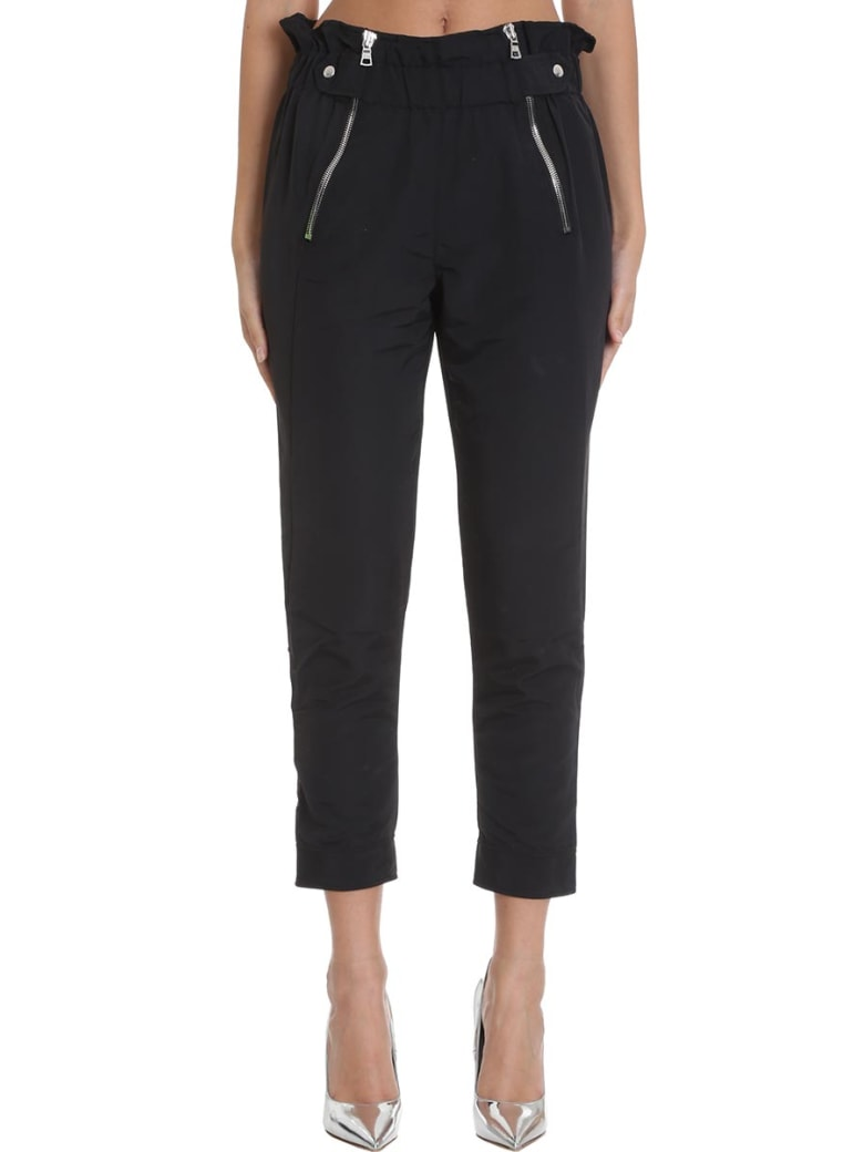RTA Pants In Black Cotton - black