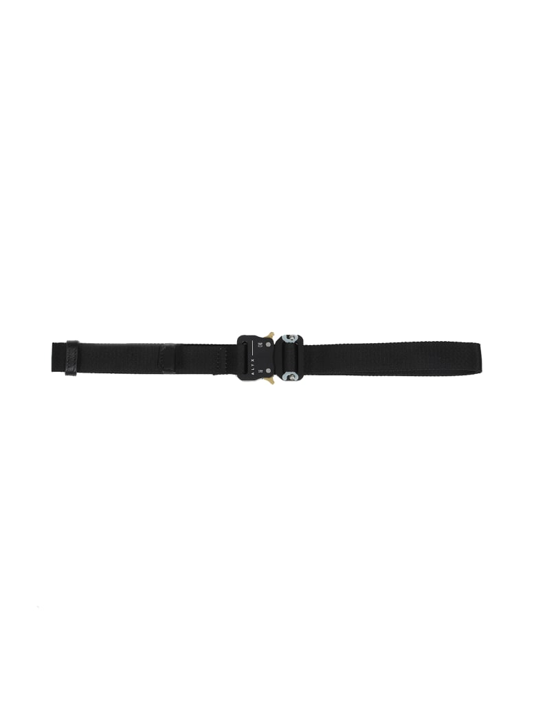 1017 ALYX 9SM Medium Rollercoaster Belt - Nero