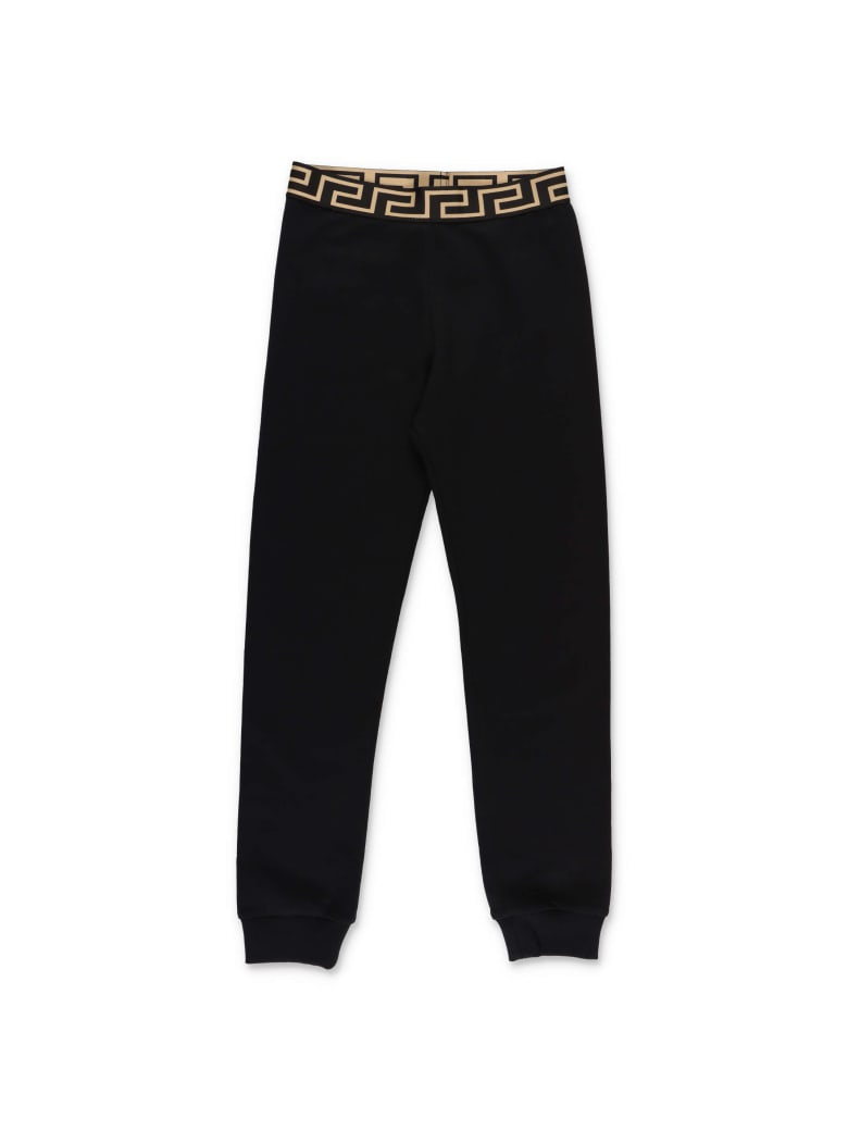 Young Versace Bottoms - Nero