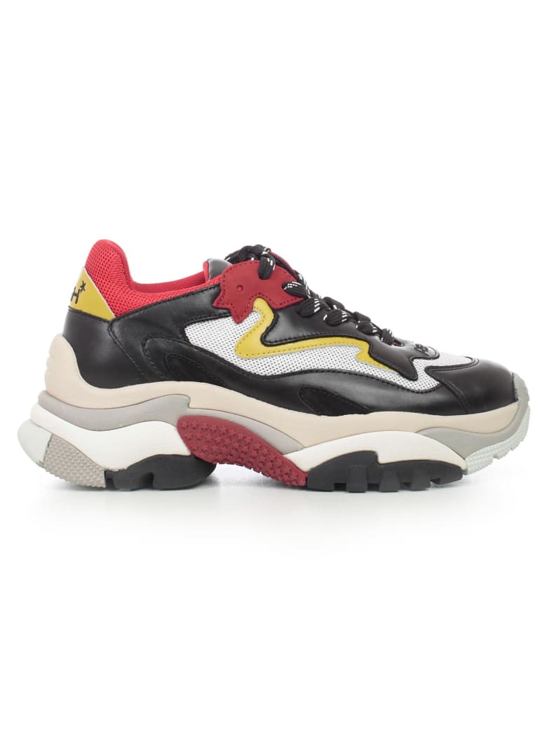 Ash Sneakers - Red White Yellow