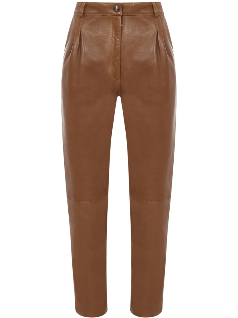 Etro Trousers - Caramel