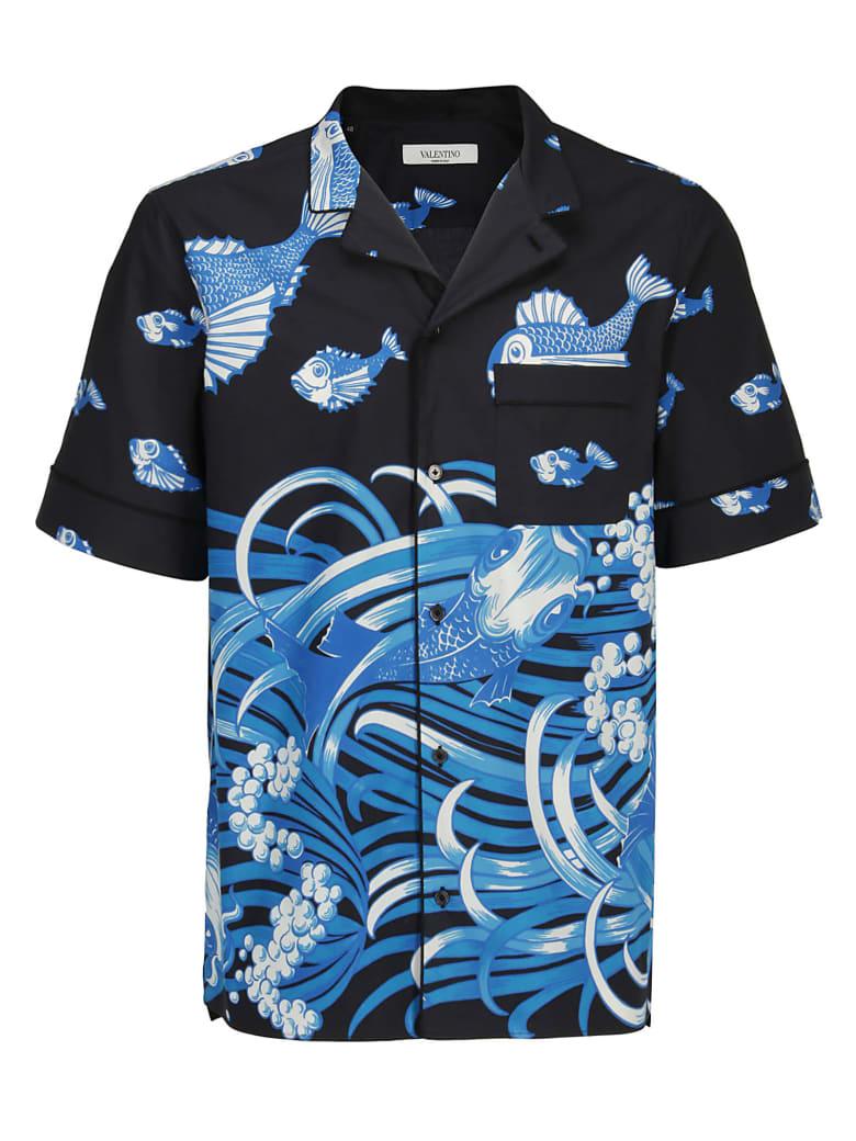 Valentino Shirt - Stampa pesce
