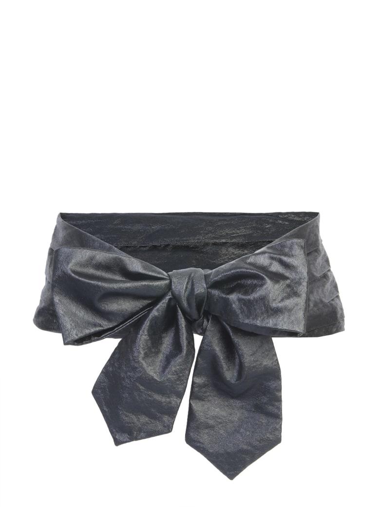 Philosophy di Lorenzo Serafini Soft Belt With Bow - 0555