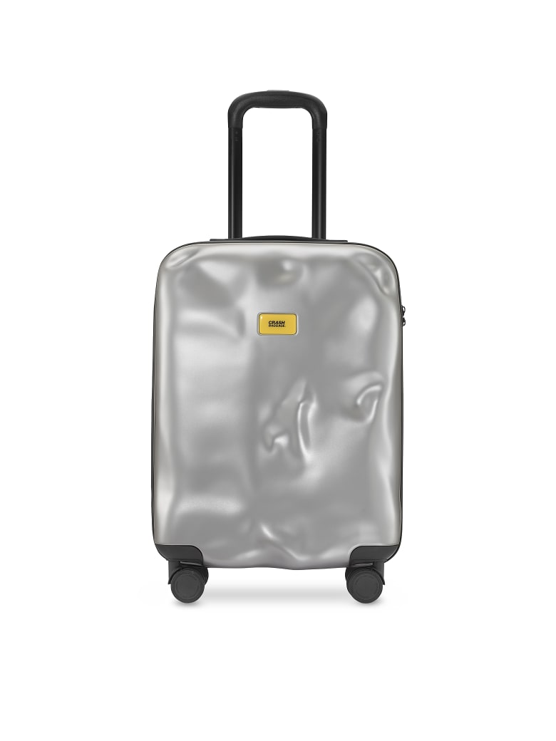 Crash Baggage Icon Carry-on Trolley - Silver