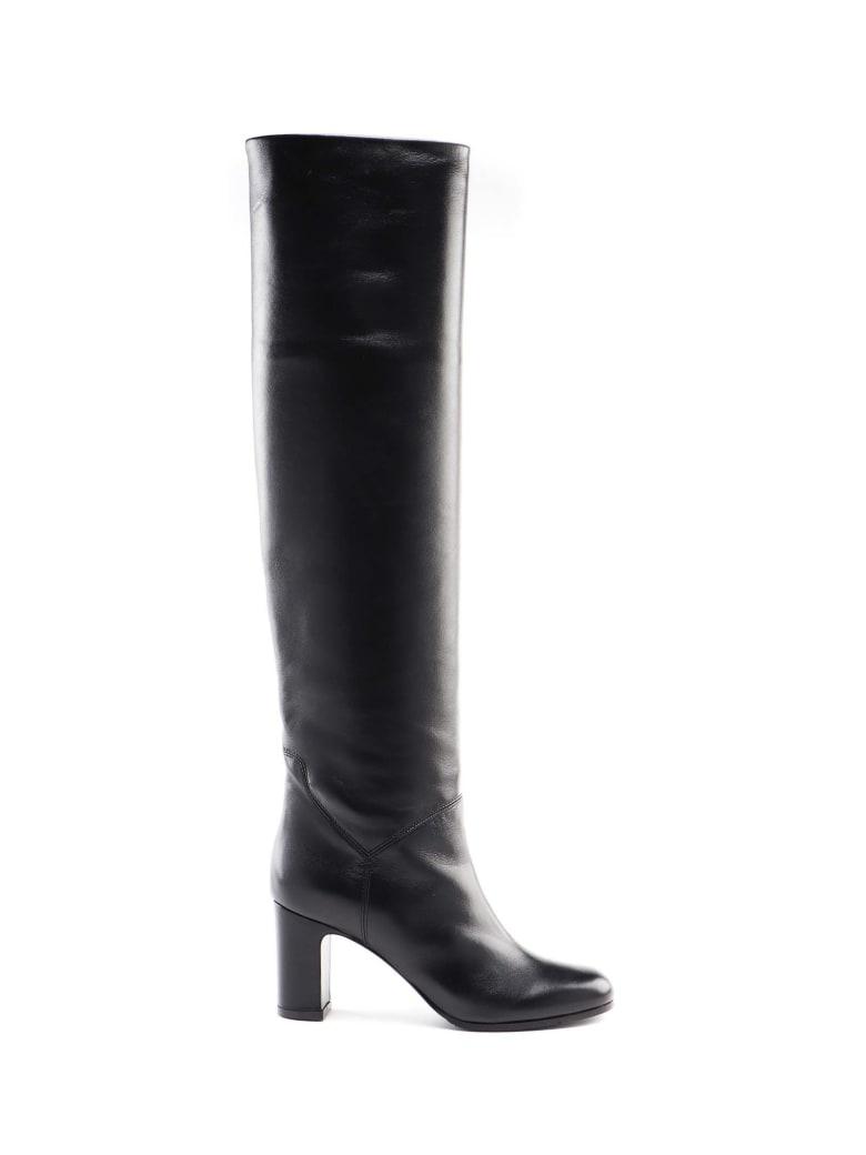 L'Autre Chose No Zip Boot - Black