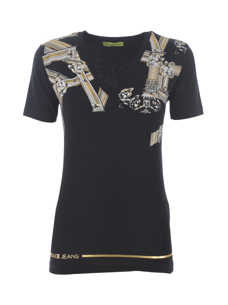 Versace Jeans Couture Short Sleeve T-Shirt - Nero