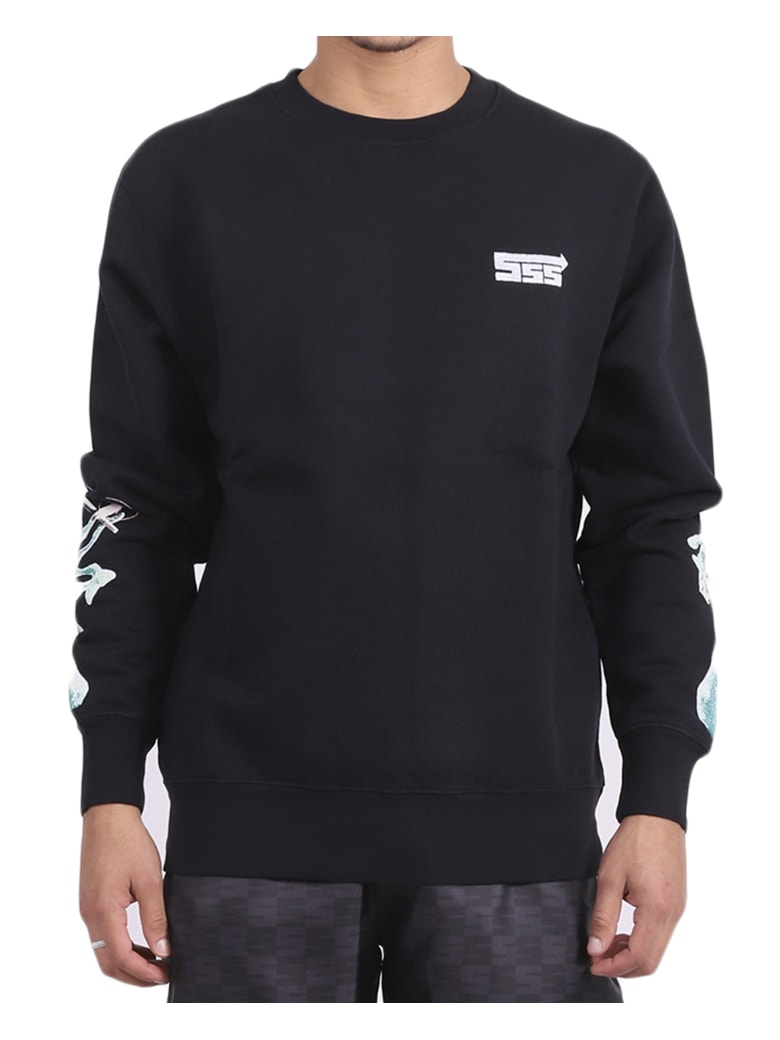 SSS World Corp Extrat Money Sweatshirt - Black