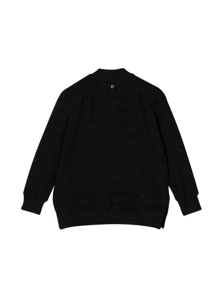 Dondup Black Bomber Jacket - Unica