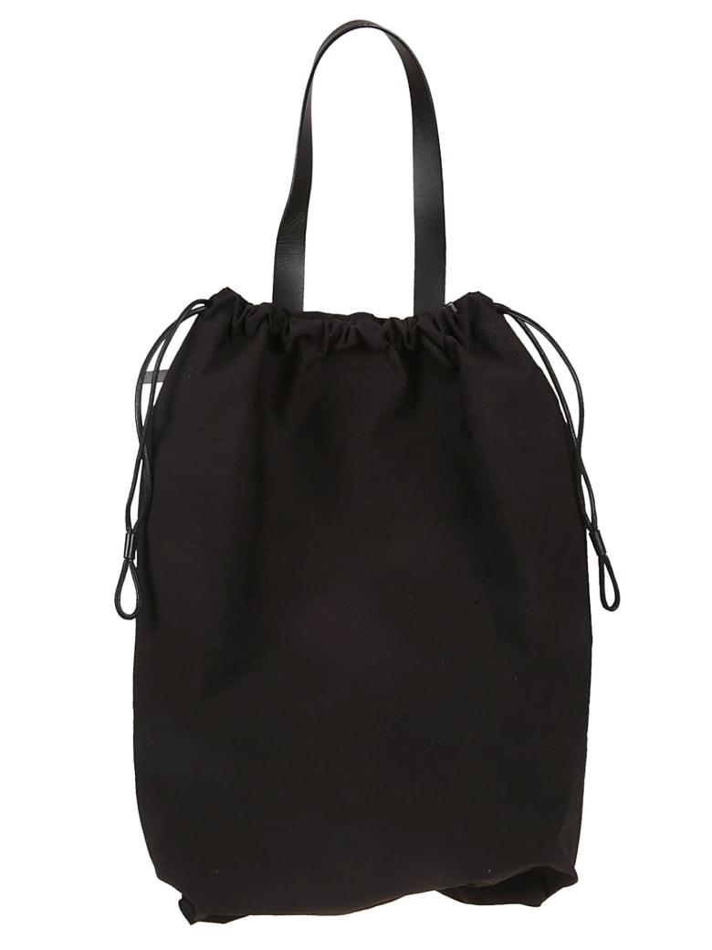 Building Block Oversized Shell Backpack - Black