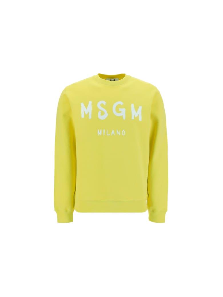 MSGM Sweatshirt - Giallo
