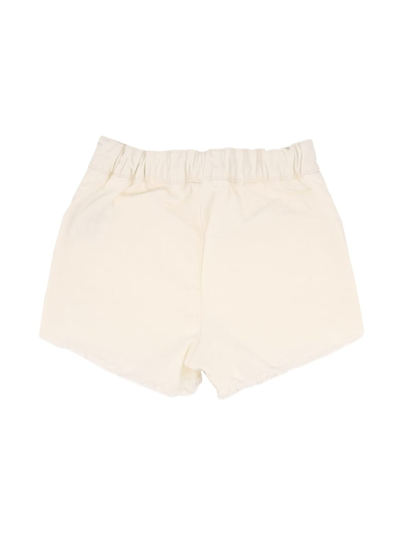 Chloé Drowstring Fitted Shorts - White