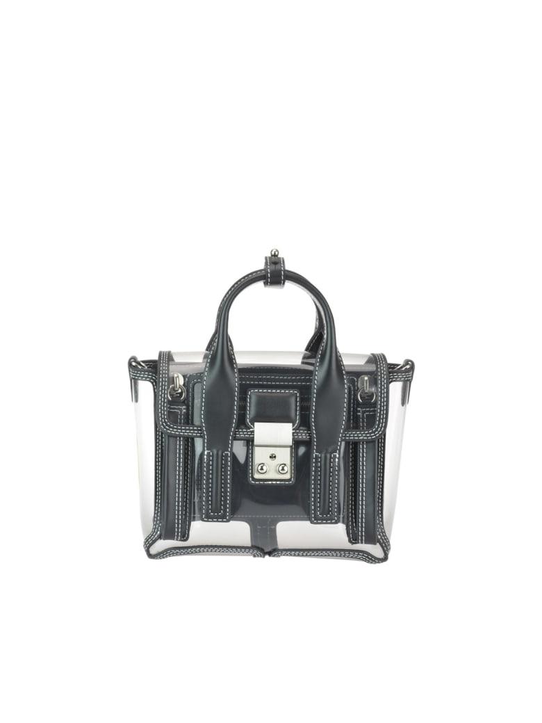 3.1 Phillip Lim Pashli Mini Transparent Satchel Bag - Black