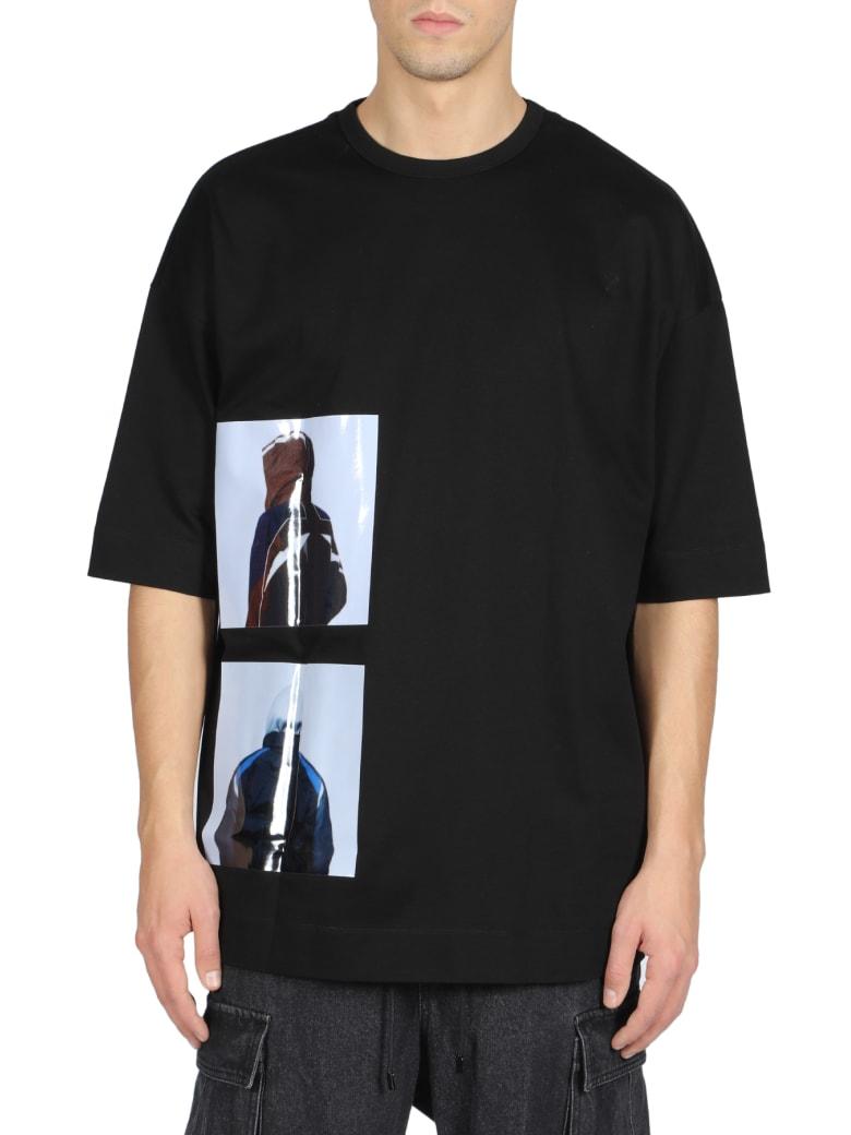 Juun.J Short Sleeve T-Shirt - Nero