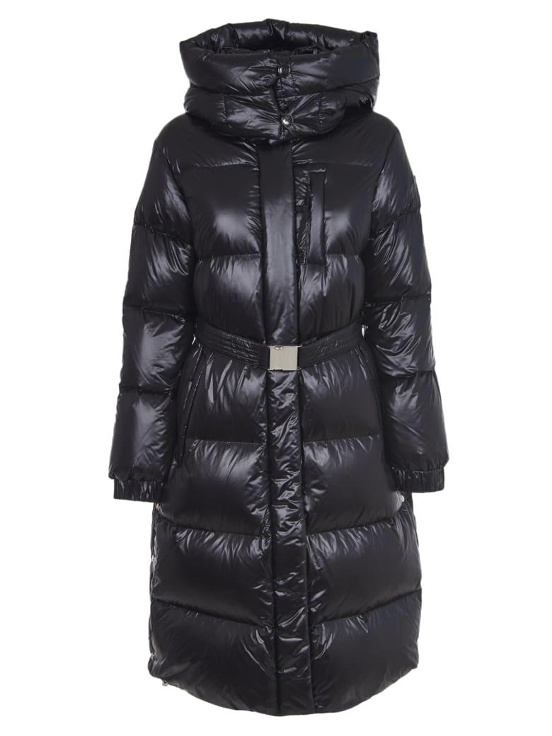Woolrich Black Aliquippa Long Jacket - Nero