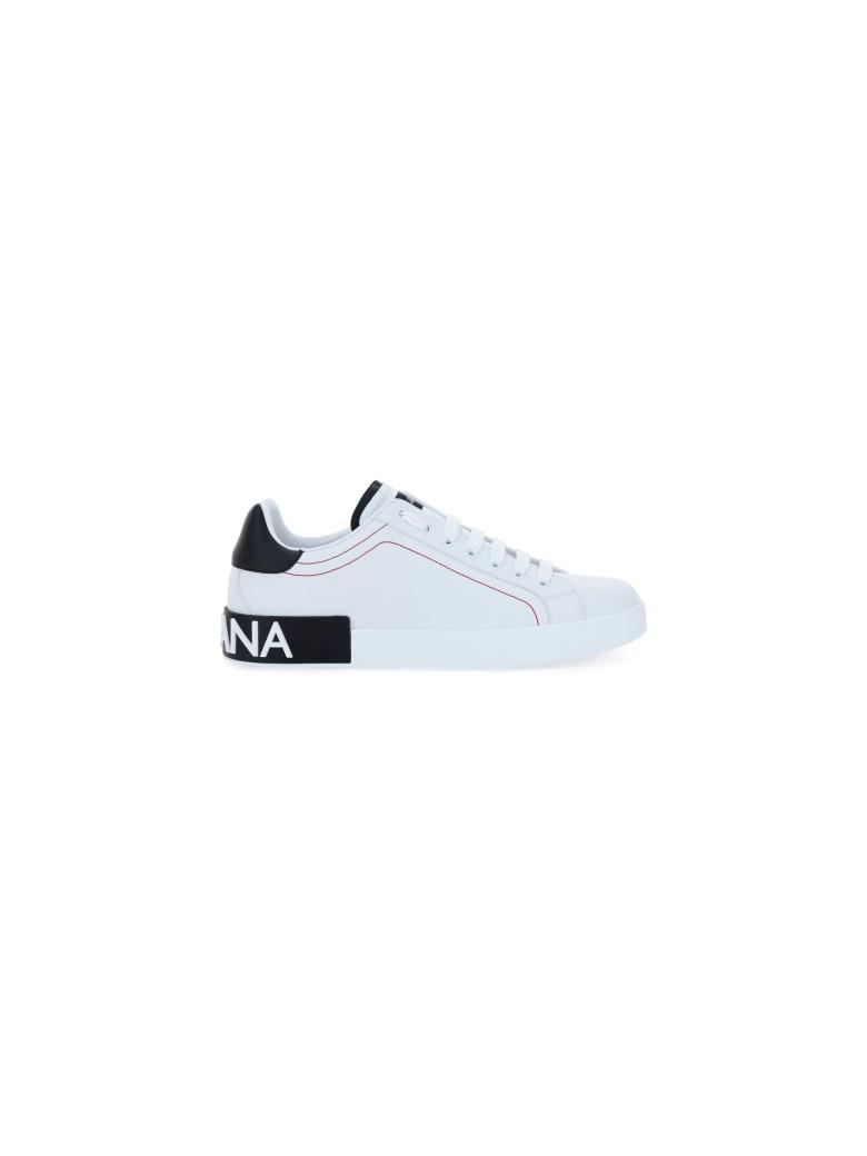 Dolce & Gabbana Portofino Low-top Sneakers - Bianco/nero