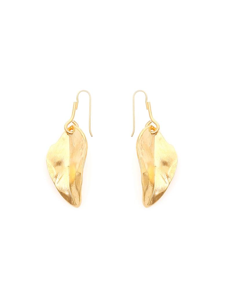 Marni Leaf Earrings - GOLD (Gold)