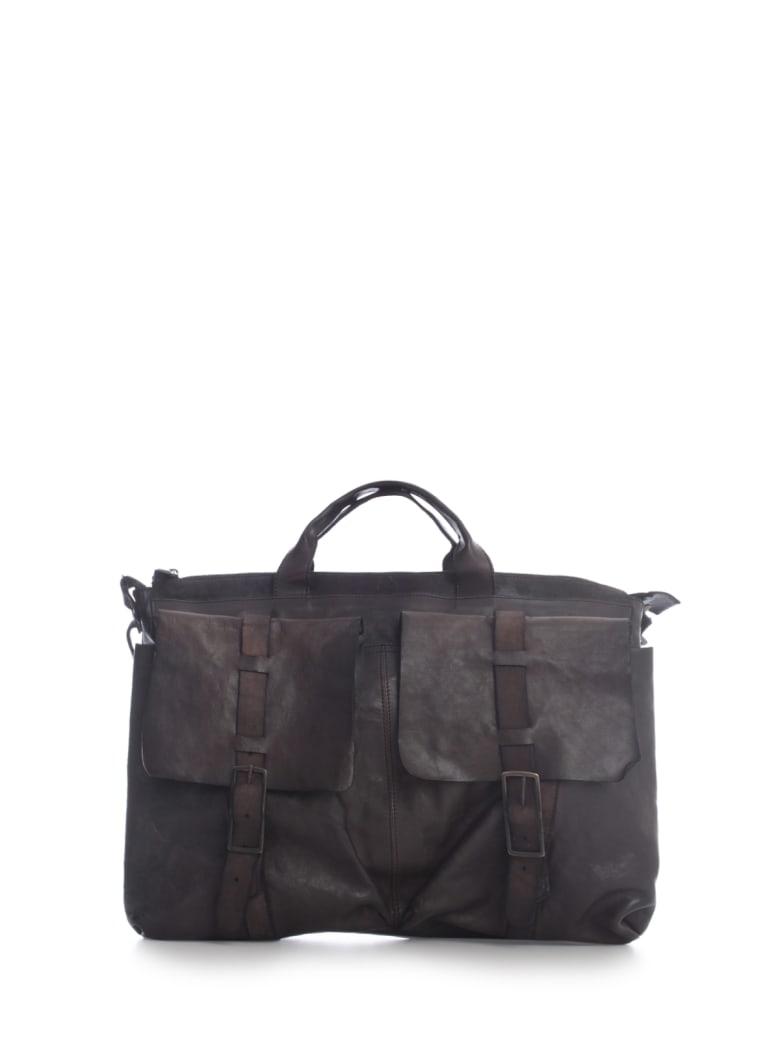 Numero 10 Work Bag Horse Leather Double Lace - Extrablack