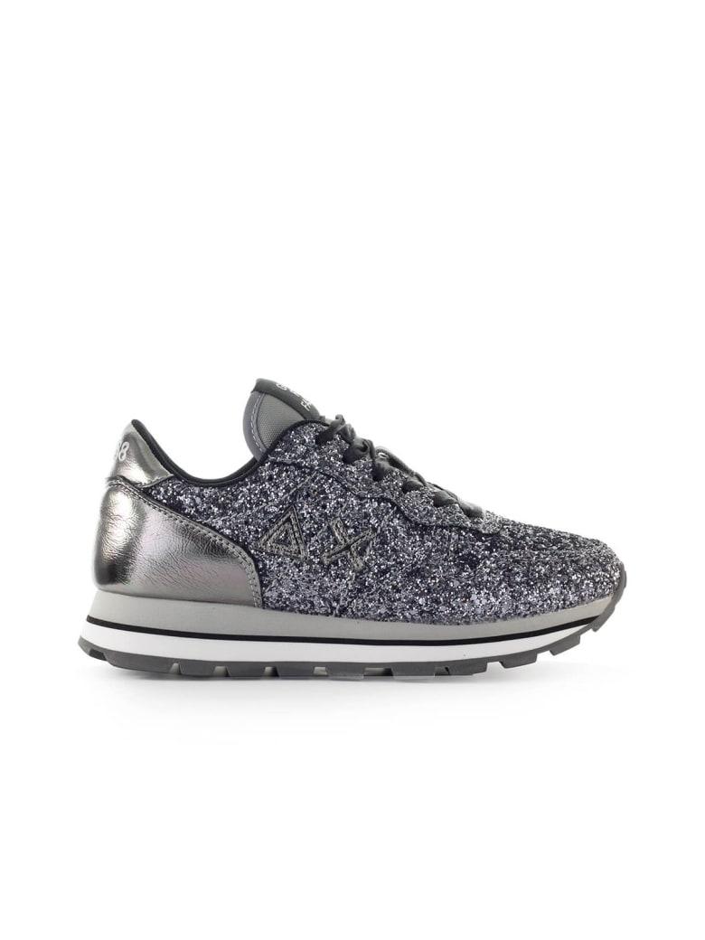 Sun 68 Sun68 Ally Silver Glitter Sneaker - Argento (Silver)