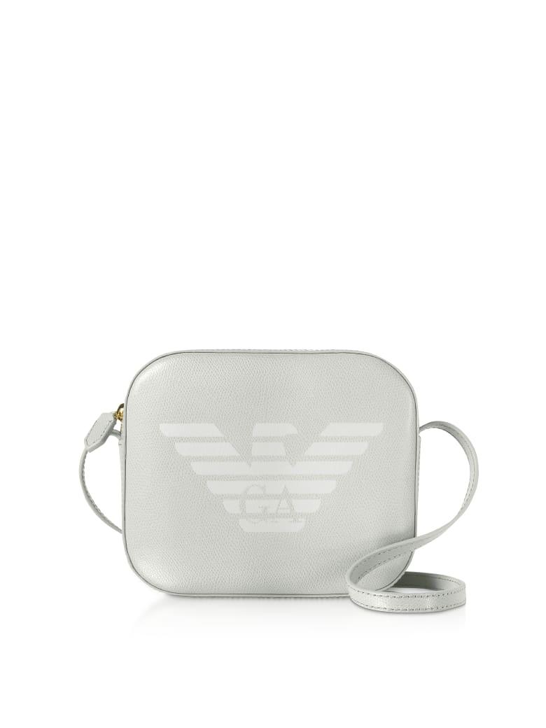 Emporio Armani Eagle Embossed Shoulder Bag - Dust
