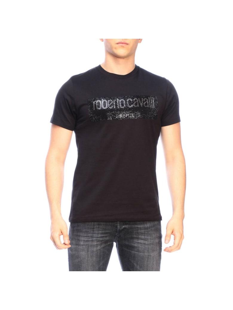 Roberto Cavalli T-shirt T-shirt Men Roberto Cavalli - black