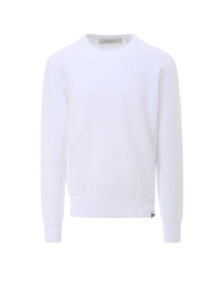 Golden Goose Sweatshirt - White