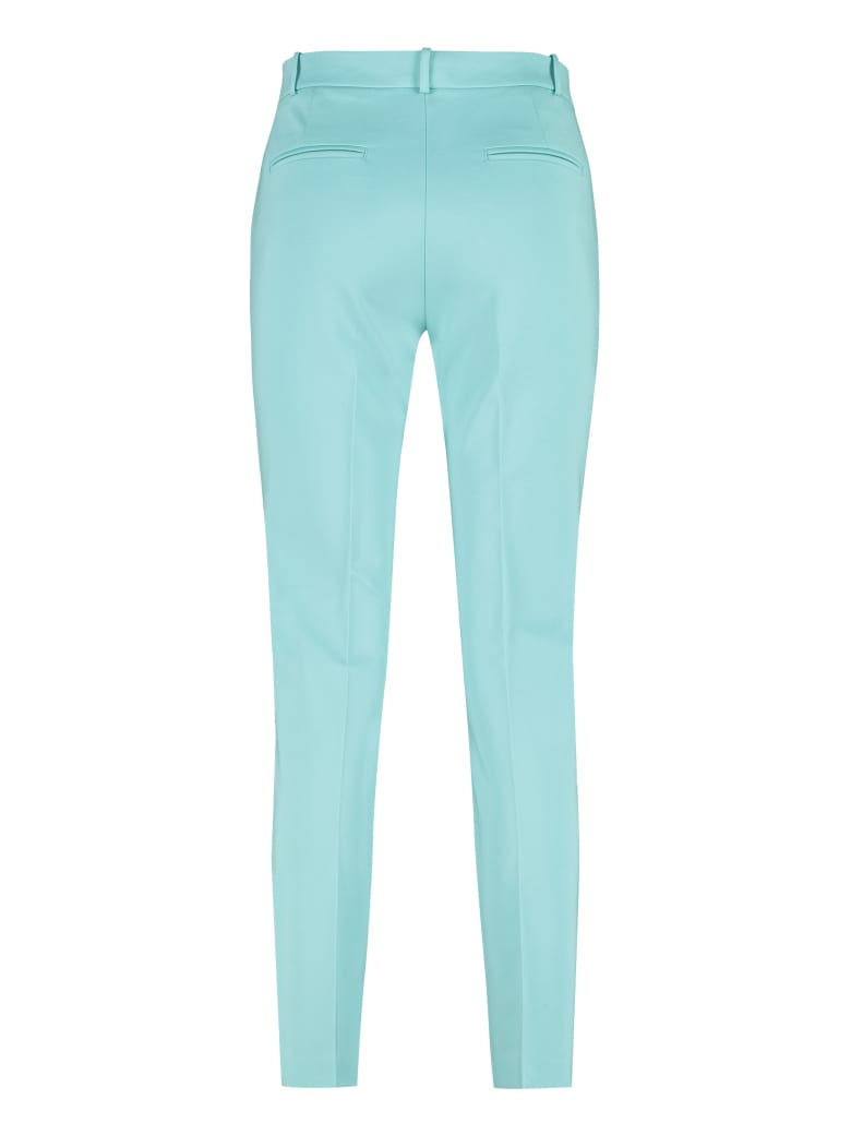 Pinko Bello Straight-leg Trousers - Blue