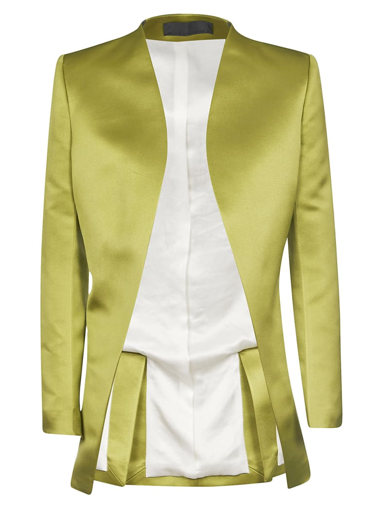 Haider Ackermann Taroni Round Shaped Blazer - Acid