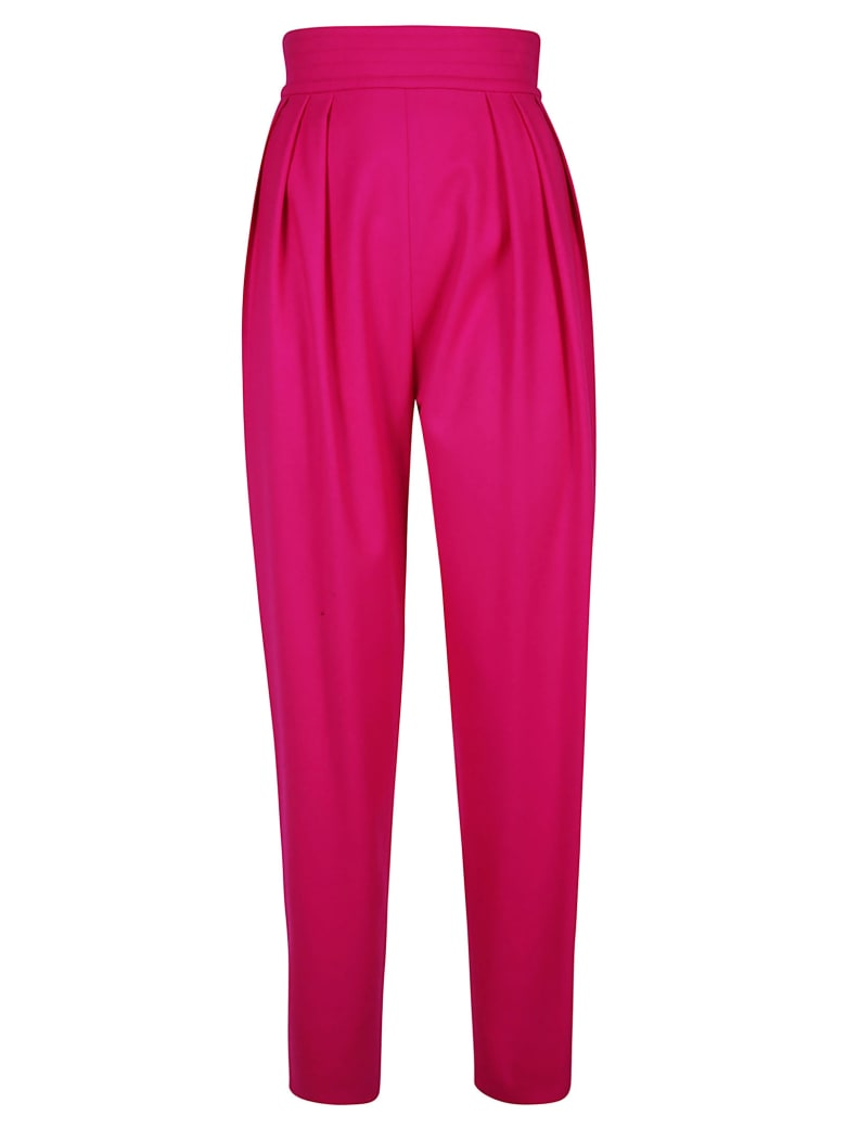 The Attico Elasticated Waist Trousers - Pink
