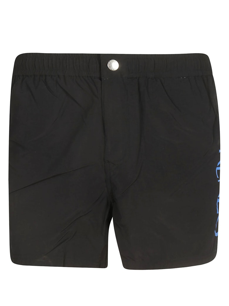 Kenzo Logo Swim Shorts - Black