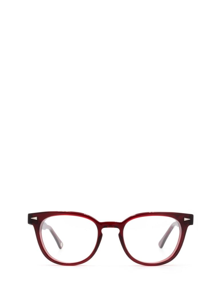 AHLEM Ahlem Rue Duroc Burgundy Glasses - BURGUNDY