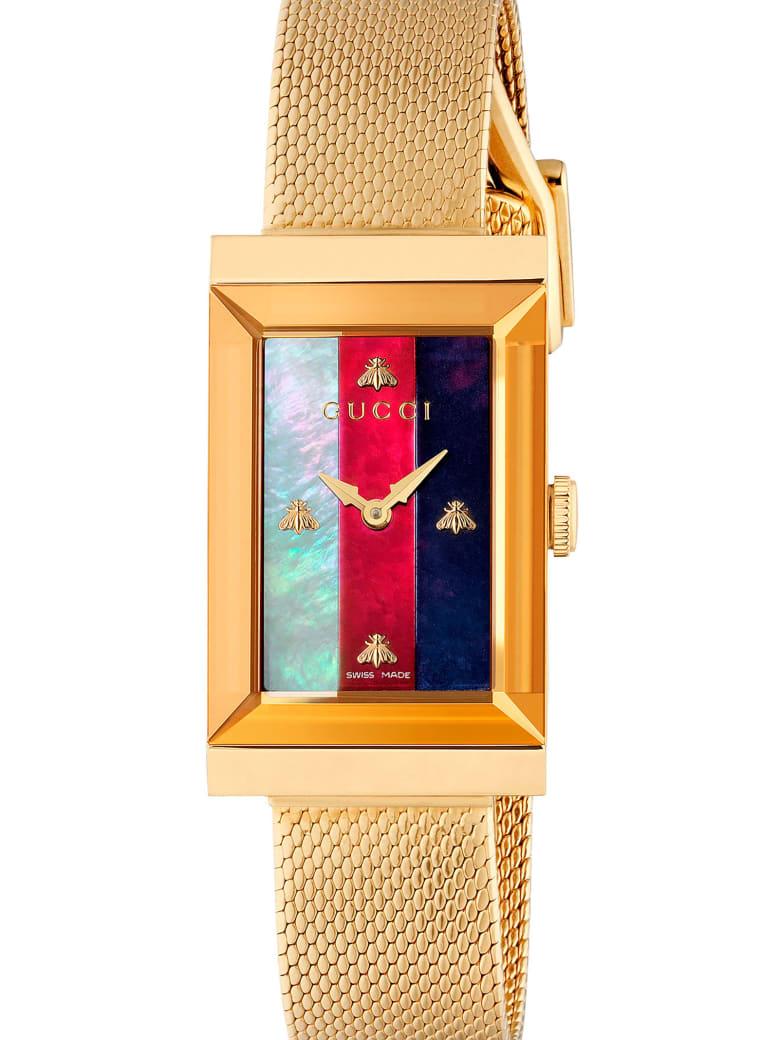 Gucci 'g-frame' Watch - Gold