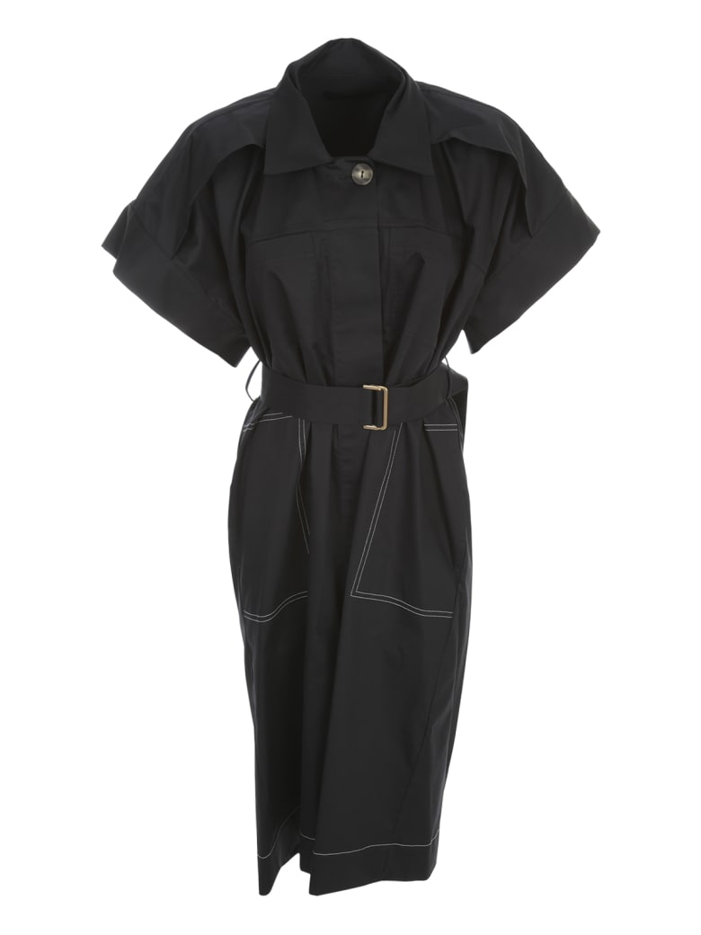 Eudon Choi Joseph Dress S/s W/belt - Navy