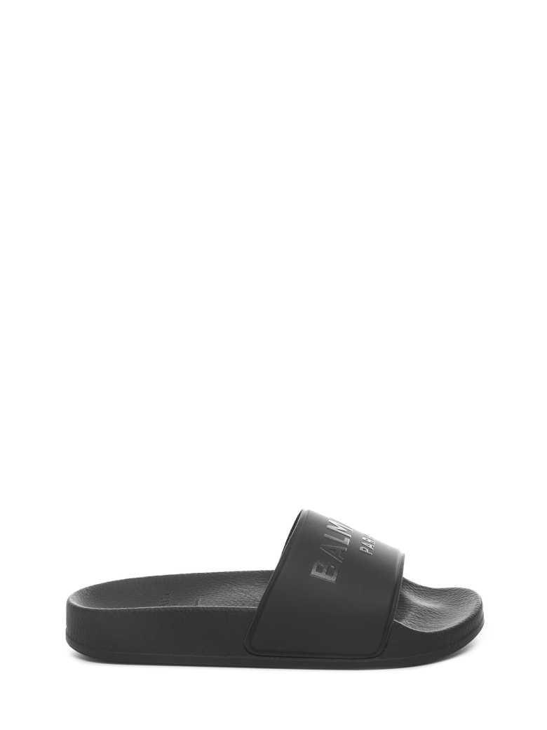 Balmain Paris Kids Sandals - Black